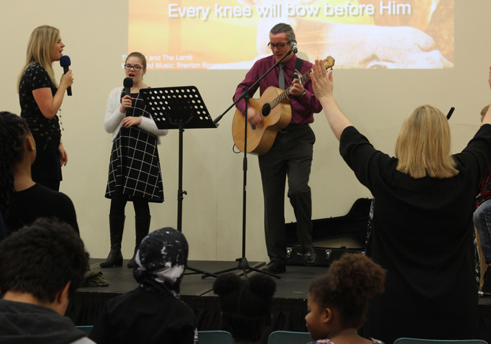 Sunday worship at Hope Hillingdon
